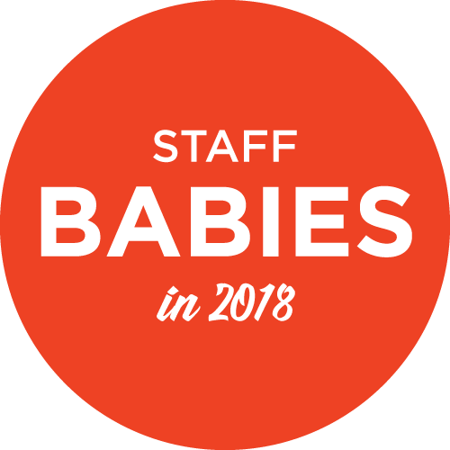 Staff Babies in 2018